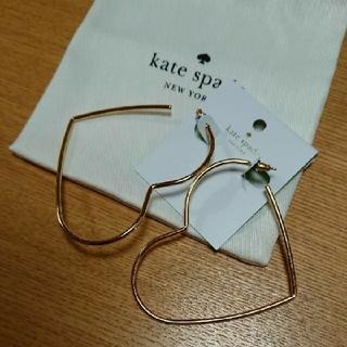 ケイトスペードニューヨーク(kate spade new york)の新品 ケイトスペード ピアス ハート(ピアス)