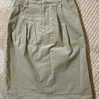 ケービーエフ(KBF)のkBF ♡ コーデュロイスカート♡お値下げしました。(ひざ丈スカート)