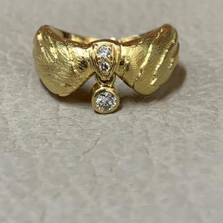 ミキモト(MIKIMOTO)のK18 ダイヤモンド リング(リング(指輪))