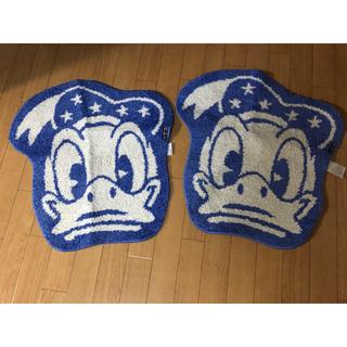 ディズニー(Disney)のドナルドダック マット2枚セット(玄関マット)