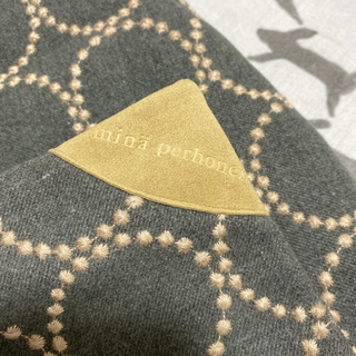 ミナペルホネン(mina perhonen)のミナペルホネン タンバリン クッションカバー 正規品(クッションカバー)