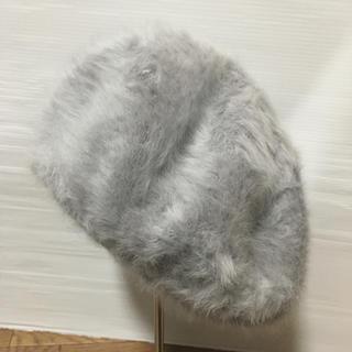 サマンサモスモス(SM2)のLagamファー ベレー帽(*^^*)339(ハンチング/ベレー帽)