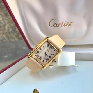 Cartier - 美品✨カルティエ Cartier アクアリーノ マストタンク 腕時計