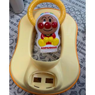 アンパンマン(アンパンマン)のアンパンマン トイトレ トイレ 販売期限有り(補助便座)