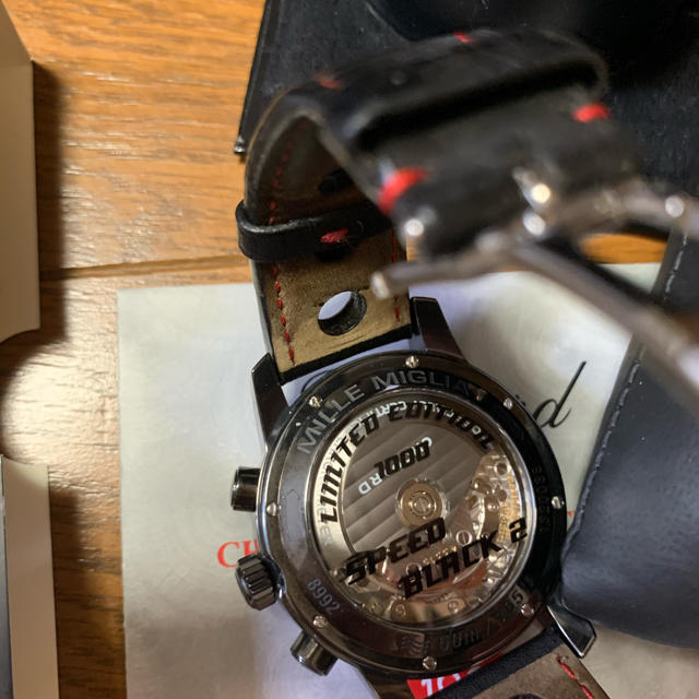 Chopard(ショパール)のCHOPARD ミッレミリア GMT 16/8992-3004 限定モデル メンズの時計(腕時計(アナログ))の商品写真