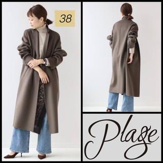 プラージュ(Plage)のPlage ◆2020AW ハミルトンテーラードコート カーキ 38◆  (ロングコート)