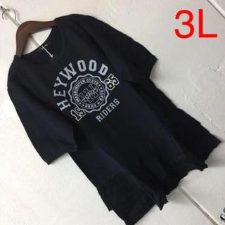ニッセン(ニッセン)の3L半袖 Tシャツ(Tシャツ(半袖/袖なし))