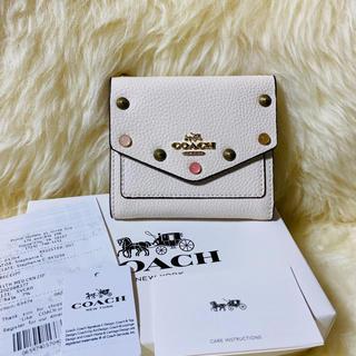 COACH - COACH コーチ コインケース カードケース 小銭入れ  三つ折り財布