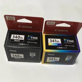 Canon - キャノン 純正品 インク カートリッジ 大容量タイプ 340XL 341XL