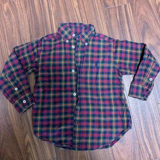 ラルフローレン(Ralph Lauren)のラルフローレン キッズ チェックシャツ 100(カーディガン)