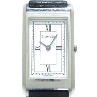 ティファニー(Tiffany & Co.)のティファニー 腕時計 クラシック 白(腕時計)
