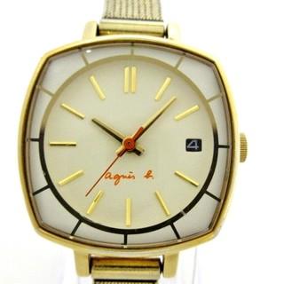 アニエスベー(agnes b.)のagnes b(アニエスベー) 腕時計 - 7N82-0CH0(腕時計)