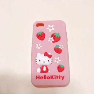 ハローキティ(ハローキティ)のiphone4s キティシリコンケース(iPhoneケース)