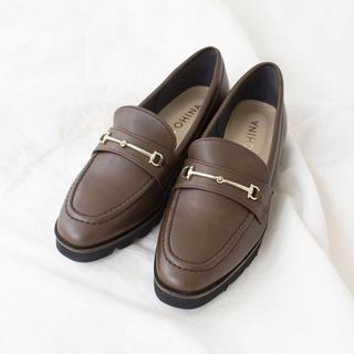プラットフォームローファー(ローファー/革靴)