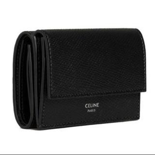 celine - CELINE FOLDED COMPACT WALLET 短財布  三つ折財布