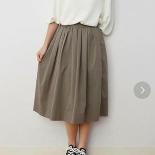 シップス(SHIPS)のシップス DAYS ギャザー スカート(ひざ丈スカート)