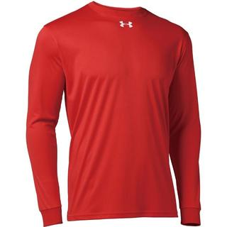アンダーアーマー(UNDER ARMOUR)のアンダーアーマー ロングスリーブ長袖Tシャツ 1314087 Red SM(Tシャツ/カットソー(七分/長袖))