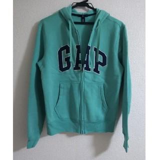 ギャップ(GAP)の GAPパーカー    グリーン  美品(パーカー)