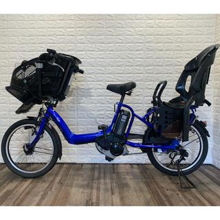 ヤマハ(ヤマハ)のYAMAHA PAS kiss ブルー 新基準 電動アシスト自転車 子供2人乗せ(自転車本体)