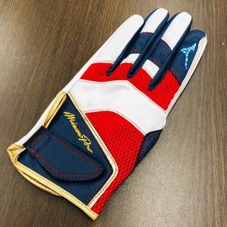 ミズノ(MIZUNO)のミズノ プレミアムモデル ミズノプロ 守備用手袋 左手用(防具)