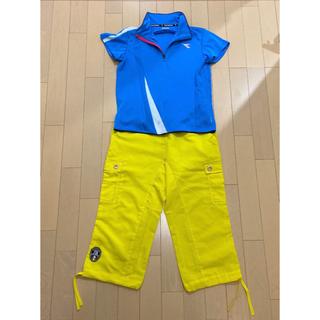 ディアドラ(DIADORA)のDIADORA テニス ゲームシャツ セット レディース(ウェア)