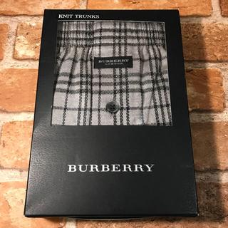 バーバリー(BURBERRY)の【正規品】BURBERRY バーバリー ロンドン チェック トランクス LL(トランクス)