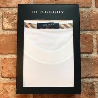 BURBERRY - 【正規品】BURBERRY バーバリー クルーネック Tシャツ M ノバチェック