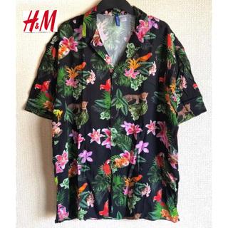 エイチアンドエム(H&M)の新品 H&M トロピカル リゾートシャツ  Mサイズ(シャツ)
