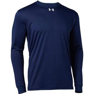 アンダーアーマー(UNDER ARMOUR)のアンダーアーマー ロングスリーブ長袖Tシャツ 1314087 Navy SM(Tシャツ/カットソー(七分/長袖))