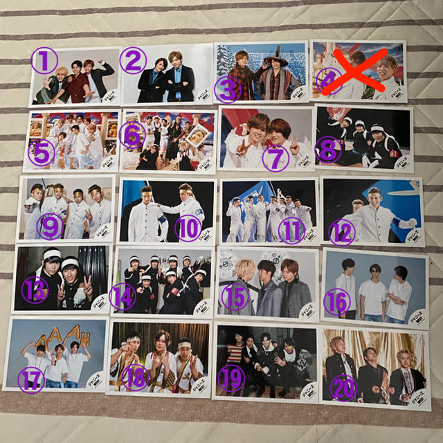 ジャニーズWEST(ジャニーズウエスト)のジャニーズWEST 公式写真1 エンタメ/ホビーのタレントグッズ(アイドルグッズ)の商品写真
