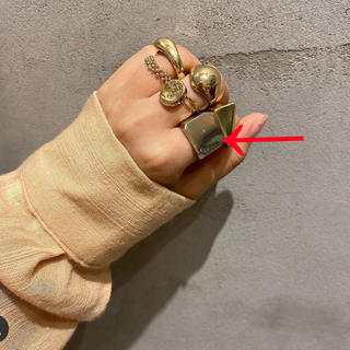 カスタネ(Kastane)のlattice リング☺︎ゴールド ゴールドリング(リング(指輪))