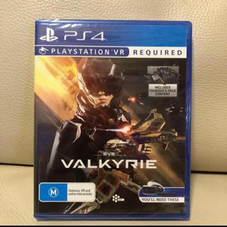 プレイステーションヴィーアール(PlayStation VR)の未開封  PS4  VR eve valkyrie(家庭用ゲームソフト)