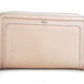 クロエ(Chloe)のクロエ 長財布 マーシー ベージュ レザー(財布)