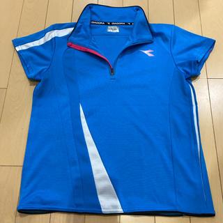 ディアドラ(DIADORA)のDIADORA テニス ゲームシャツ レディース (ウェア)