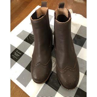 サマンサモスモス(SM2)の連休セール⭐️訳ありSM2の本革ショートブーツ(15242円)(ブーツ)