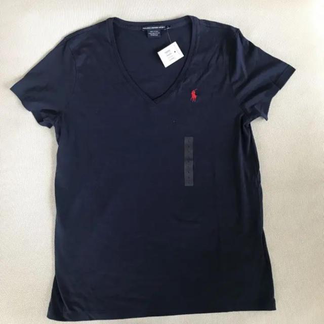 Ralph Lauren(ラルフローレン)の《新品未使用タグ付き》ラルフローレン レディースTシャツ レディースのトップス(Tシャツ(半袖/袖なし))の商品写真