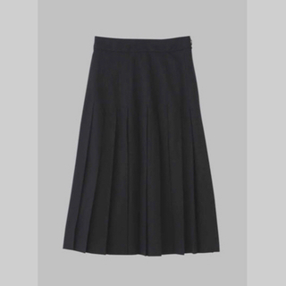 マーガレットハウエル(MARGARET HOWELL)のマーガレットハウエル 2019AW  プリーツスカート  試着のみ新品未使用品(ロングスカート)