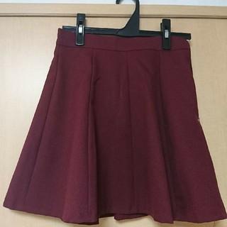 ディーホリック(dholic)の韓国ファッション ♥赤 ミニスカート♥秋(ミニスカート)