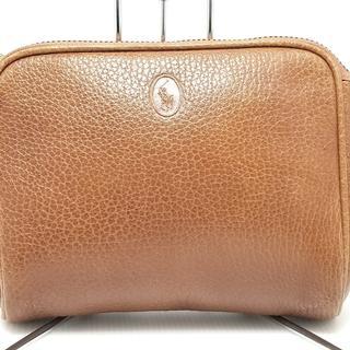 ポロラルフローレン(POLO RALPH LAUREN)のポロラルフローレン セカンドバッグ美品  -(セカンドバッグ/クラッチバッグ)