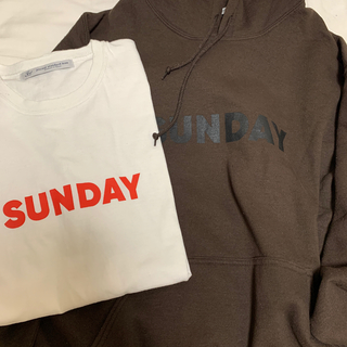 JOURNAL STANDARD - 2点:journal standard luxe SUNDAYパーカー&Tシャツ