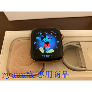 アップルウォッチ(Apple Watch)の【ryuuu様 専用】Apple Watch Series 5(GPSモデル)(腕時計(デジタル))