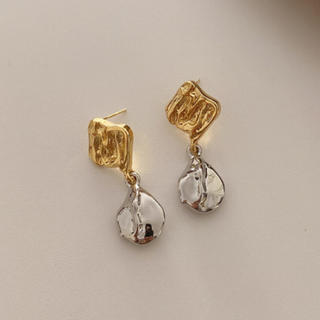 イエナ(IENA)のDouble color drop pierce No.495(ピアス)