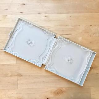 ムジルシリョウヒン(MUJI (無印良品))の無印良品 CD・DVDケース ホワイト(CD/DVD収納)