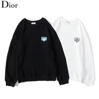 Dior - DIOR 2109 Tシャツ/長袖 ロゴ 男女兼用 2枚12000円