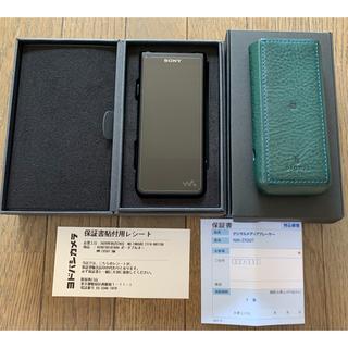 SONY - Sony nw-zx507 dignis本革カバーセット 美品