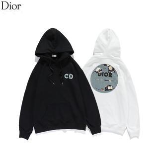 ディオール(Dior)のDIOR 1101 パーカー シンプル 男女兼用 2枚14000円(パーカー)