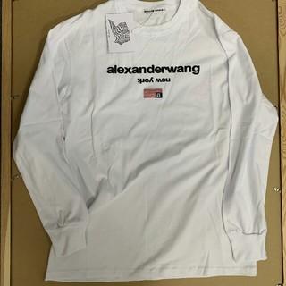 Alexander Wang - Alexander wang ロンT ロゴ