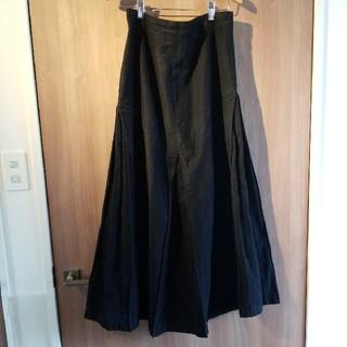 ワイズ(Y's)のY's たっぷりボリュームプリーツ ロングスカート サイズ3(ロングスカート)