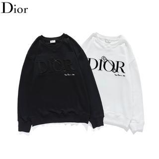 ディオール(Dior)のDIOR 1701 シンプル ロゴ 男女兼用 2枚12000円送料無料(Tシャツ/カットソー(七分/長袖))