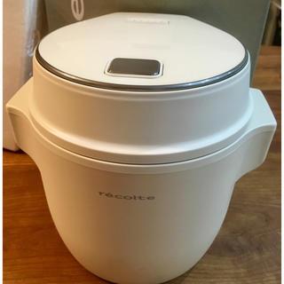 【美品‼︎】レコルト コンパクトライスクッカー(調理機器)